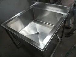 Single SS Wash Basin Sink
