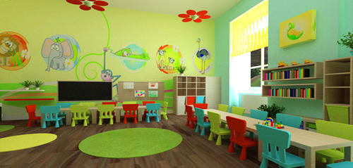 Play School Interior Design Service In Sahibabad Ghaziabad Ardour