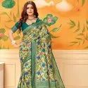 Rich Look Fancy Silk Saree