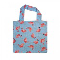 Foldable Printed Cotton Shopping Bag