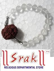 5 Mukhi Rudraksh Sphatic Bracelet