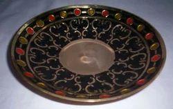 Brass Fruit Dish