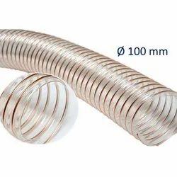 Round Polyurethane PU duct hose, Size: 50mm To 250mm