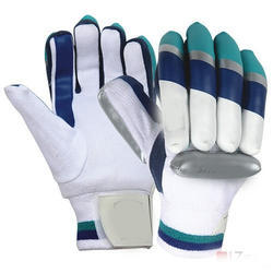 SG Leather and Polyester Cricket Batting Gloves, Size: Free Size