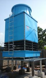Three Phase FRP Square Cooling Tower, Type: Induced Draft