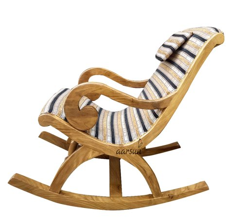 Aarsun Woods Teak Wood Wooden Traditional Rocking Chair For Home Id 21099177588