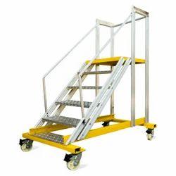 Aluminum Trolley Platform Ladder