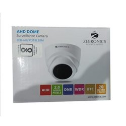 Zebronics 2 MP Surveillance Dome Camera