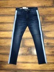 Casual Wear Plain blue Jeans
