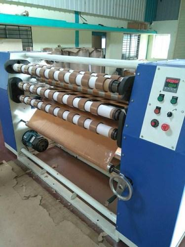5 hp BOPP Tape Making Machine, Voltage: 420 V