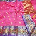 Ladies Banarasi Chanderi Silk Cotton Saree
