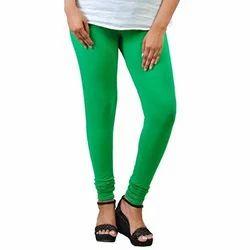 Ladies Green Churidar Leggings