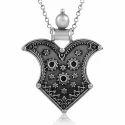 Ethnic Design Handmade 925 Sterling Silver Pendant