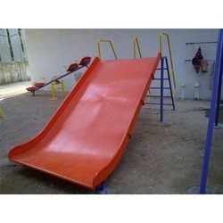 Wide Playground Slide