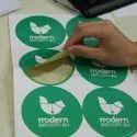 Printed Paper Sticker, Packaging Type: Carton