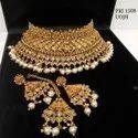 Gorgeous Studded Mukut Chokar Set PRI 1508, PRI 1509