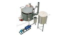 Circular Fryer with Inbuilt Heat Exchanger Indirect Heating