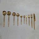 Golden Brass Cutlery Sets