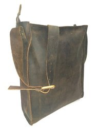 Distressed Leather Tote Bag