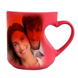 Sublimation Mug (Mug Magic Body Heart Handle)