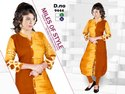 3/4th Sleeves Ladies Cotton Kurti