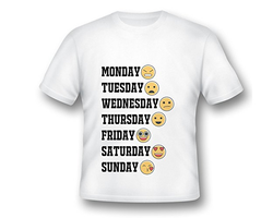 Customize Printed Emojis T Shirts