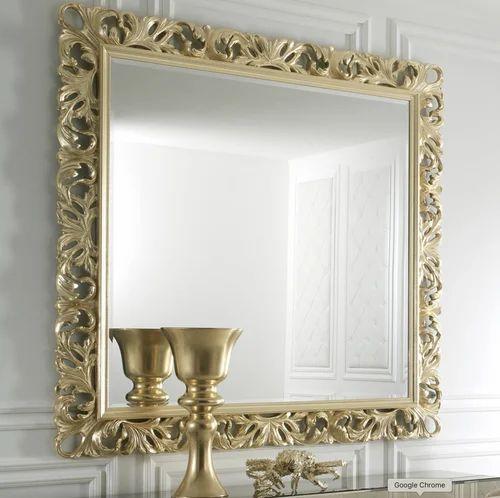 Antique Mirror Frame Gold Brass À¤® À¤°à¤° À¤« À¤° À¤® Total Export Solutions Mumbai Id 20359259473