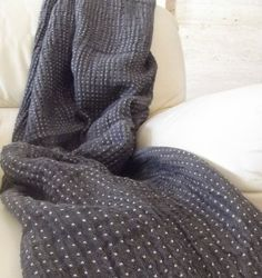 Knitted Woolen Throws