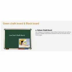 Low Dust Green Chalkboard