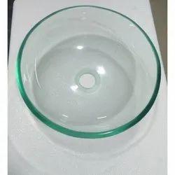 Transparent Glass Wash Basin