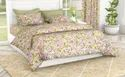 Floral Printed Cotton Double Bedsheet
