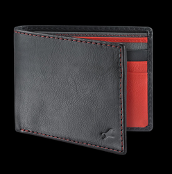 Male Fastrack Guys Leather Red Wallets - C0405LRD01
