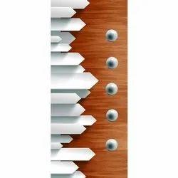 Wood Digital Skin Door, Glossy
