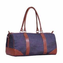 Denim Duffel Bag
