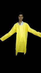 PVC Apron With Sleeve / Back Open Coat