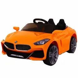 Yellow Electric Toy Kids Car