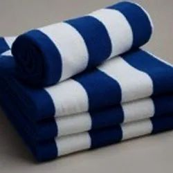 Cotton Pool Towel, For Hotel And Resorts, Size: 36x72 Inch