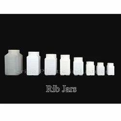 Plastic Rib Jars