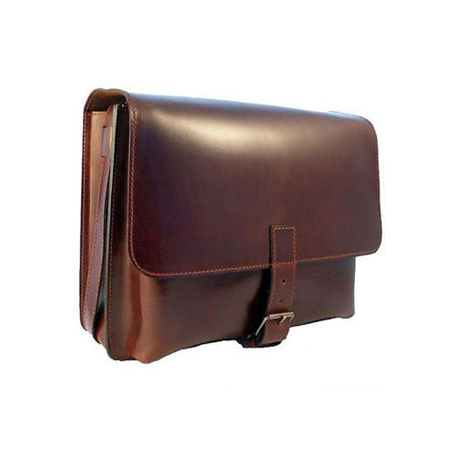 Leather Brown Laptop Sleeve