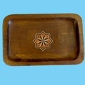 Wood Tray With Inlay