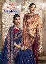 Vichitra Silk Designer Wedding Sarees, Dry Clean, Saree Length: 6 M (with Blouse Piece)