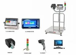Weighing And Barcode Printing Scale