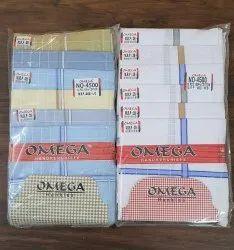 Multicolor Striped Check Pattern Handkerchief