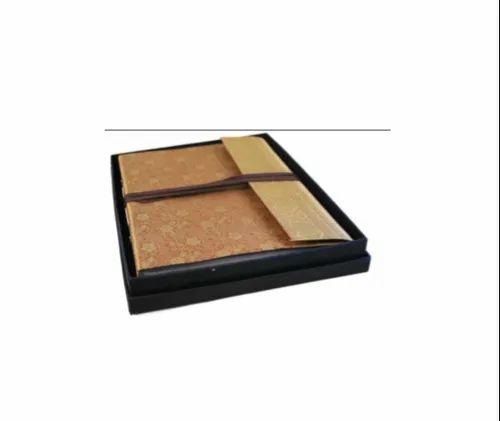 Brown Saree Cover Album Gold Color, New Era Overseas, New