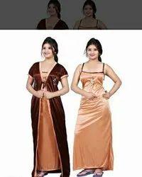Cotton Night Dress Ladies Nightwear, Size: Large, 0-50
