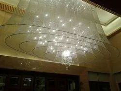Crystal Lobby Large Chandelier