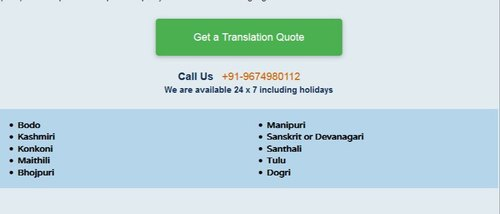 English To Bengali Translation Service, Inhouse And Online