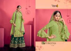Volono Trendz Bridal Vol-03 Series 3001-3004 Stylish Party Wear Faux Georgette Suit
