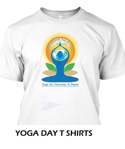 Yoga Day Personalized T Shirts