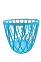 Stacking Plastic Stool, Stacking Chair- Blue
